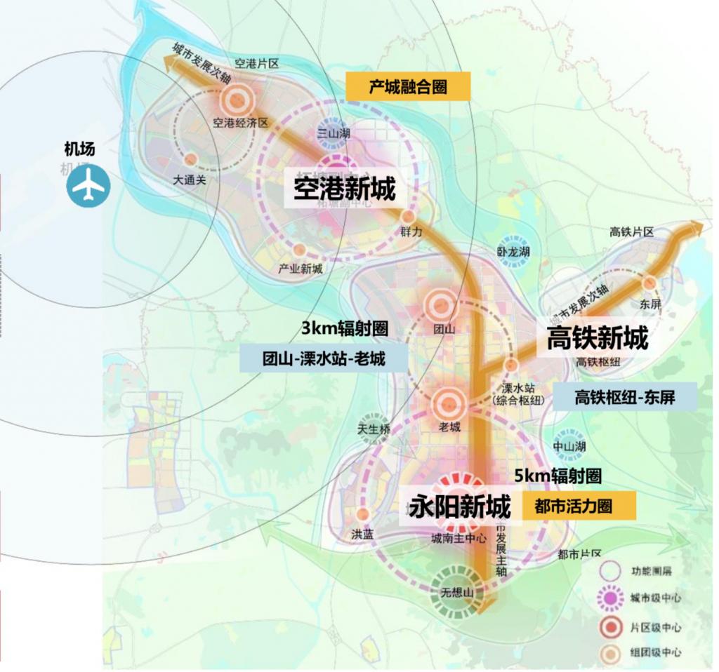 △ 溧水区规划图