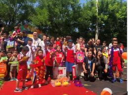 国际儿童节来临,花漾搜索走进通州耳蜗学校践行公益