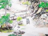 留住乡愁!郑州港区农民画家绘制现代版《清明上河图》