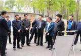 省委政法委副书记、省教育整顿办副主任李玉杰到兰考督导教育整顿工作