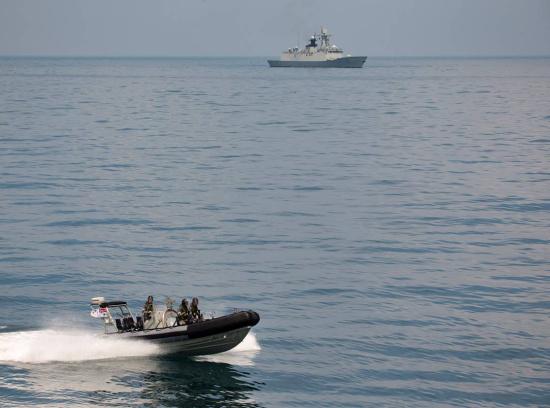 ,访问中国海军南海舰队司令部驻地广东湛江.-澳海军访华和中国军图片