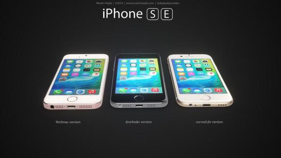 iPhone5SE渲染图 你中意吗
