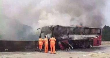 湖南宜章大巴起火事故肇事司机被批捕