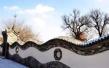 张家口蔚县打造特色小镇 古堡 剪纸 花海全都有