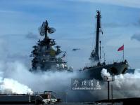 俄可用烟幕遮蔽战舰