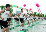 公办学校体育设施全开放 湖州发布五年全民健身计划