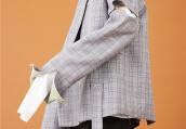 魏天浩拍摄时尚大片 个性潮流不失少年感