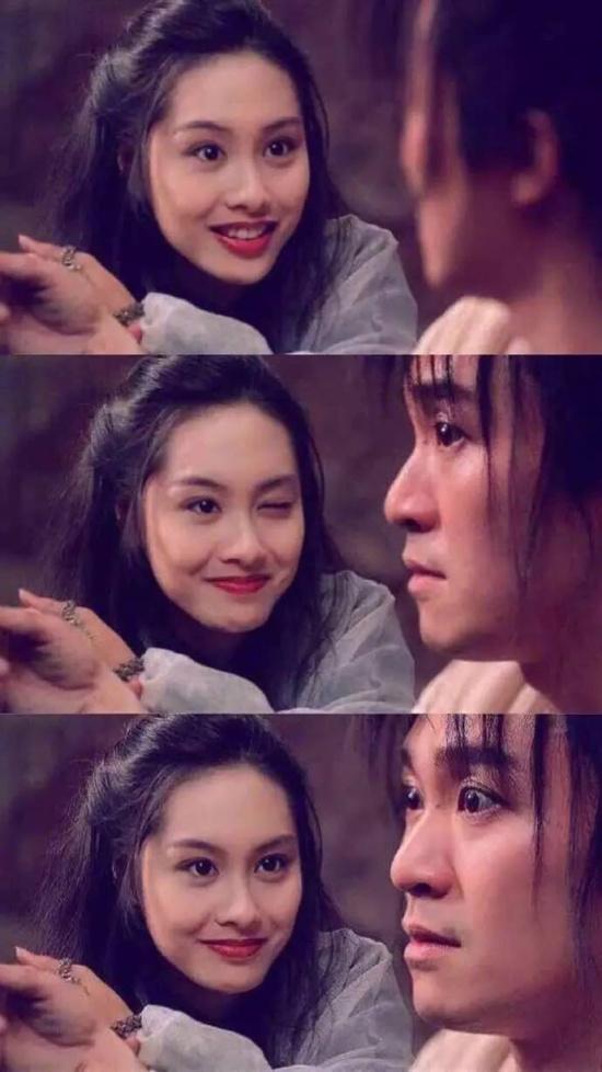 《大话西游》中为令人唏嘘的是至尊宝和紫霞仙子的爱情故事.图片