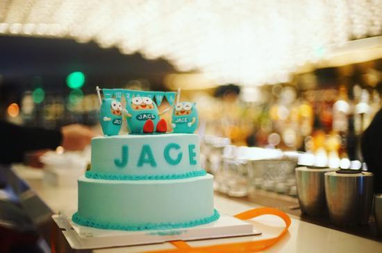 生日蛋糕 周年庆/(JACE周年庆&匹鲁一岁生日蛋糕)