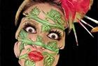 克罗地亚化妆师妆容