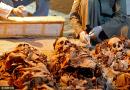 考古工作者新发现古墓