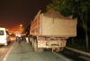 """哈尔滨交警""""双节""""治重载货车 一晚60余台车被查"""