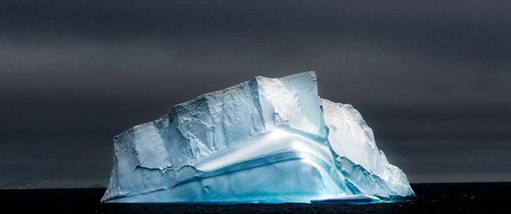 静谧之美 南极冰山