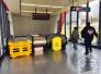 长春地铁一号线繁荣路站扶梯维修 乘客可使用直行电梯
