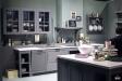 用灰色搭配出高级感爆棚的厨房