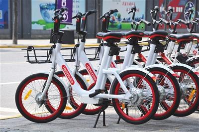 """共享电单车行业遇到成长难题,市场上仍在开展业务的企业开始谋求新的突破口,有些企业把电动助力自行车作为""""替补队员""""推向市场。资料图片"""
