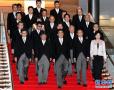 日本新内阁成员亮相