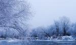 初冬大兴安岭雾凇