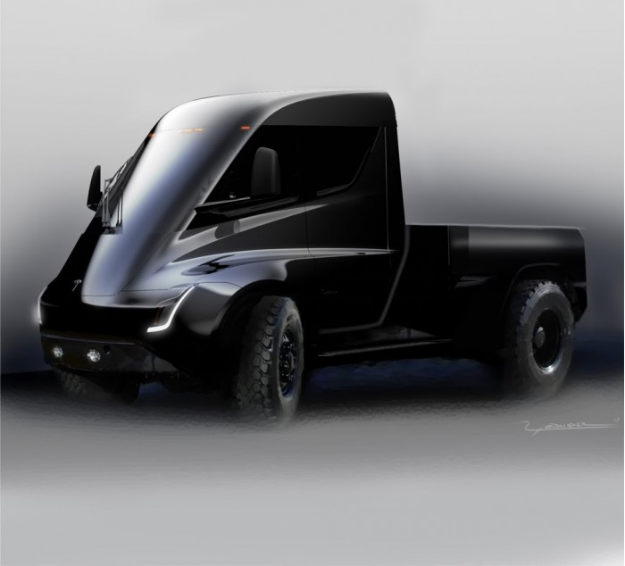 这辆卡车比跑车还快!