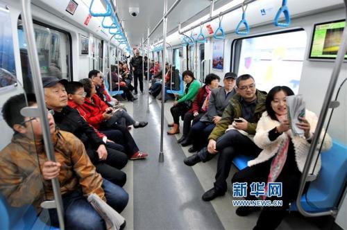 青岛地铁2号线东段开启试乘