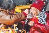 洛阳市嵩县何村乡瑶北坡社区举办第二届孝老节