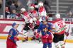 大陆冰球联赛:北京鸿星客场1-3不敌赫尔辛基小丑