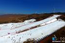 草原深处体验滑雪乐