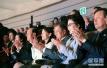 文在寅观看朝鲜艺术团演出 与金与正玄松月同框