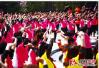 厉害了我的中国大妈!湖南2.1万人一起跳广场舞 刷新基尼斯世界纪录