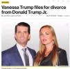 特朗普长子陷婚姻危机 被曝婚内给模特发调情私信