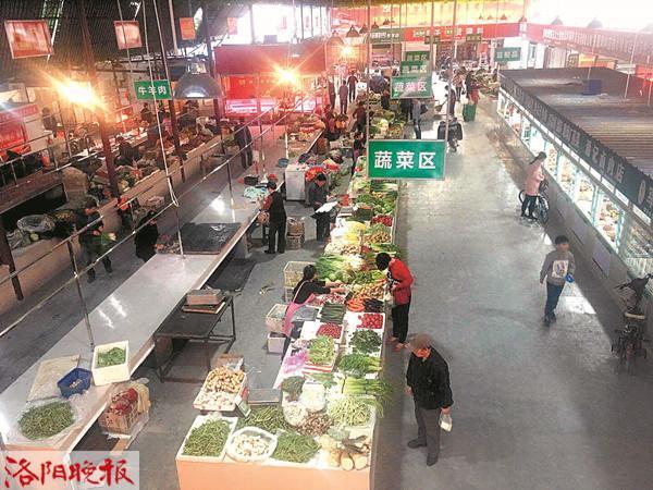 """如何看北京赛车走势图:洛阳湖南路农贸市场改造提升 """"颜值""""高菜价不上涨"""