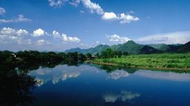 Xi spurs green development
