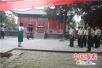 汝州市武警官兵参观汝瓷博物馆爱国主义教育基地