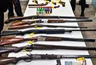 缴获大量危险武器