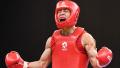 亚运武术男子散打56kg级决赛 申国顺夺冠