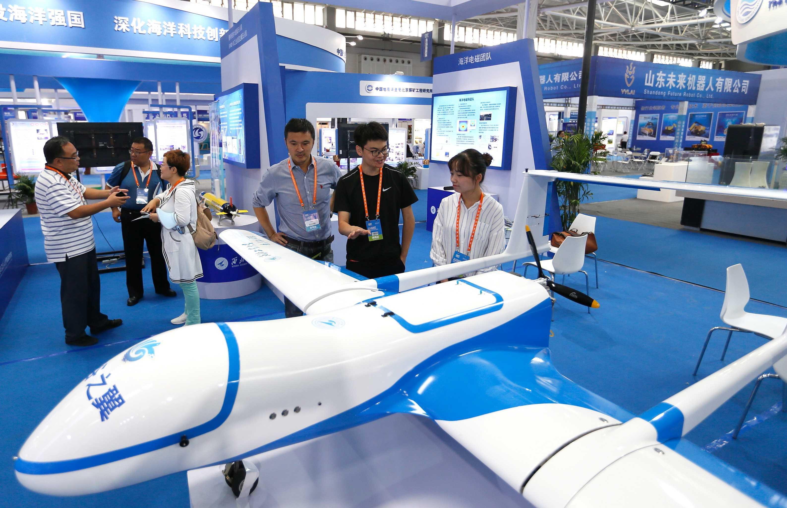 2018青岛国际海洋科技展览会开幕