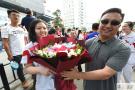 """北京高考结束 考生们微笑""""凯旋"""""""
