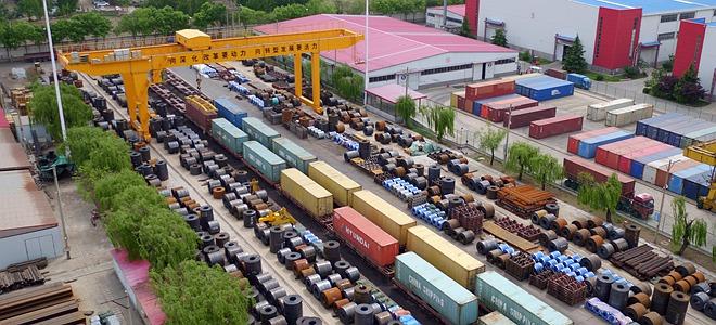 济南:中欧班列满载防疫物资发往匈牙利
