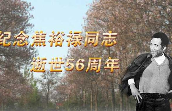 纪念焦裕禄同志逝世56周年