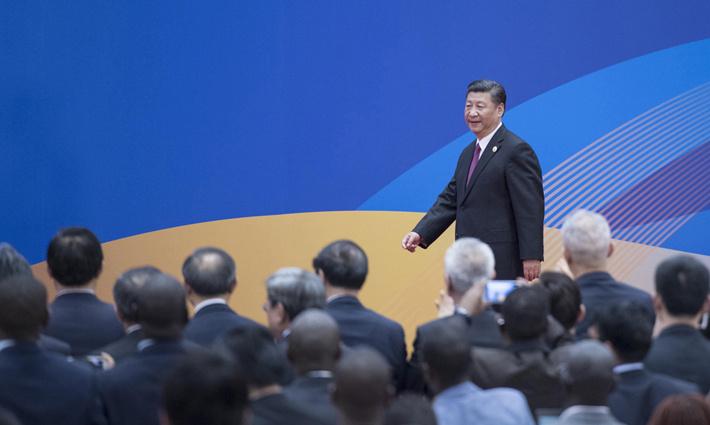 """习近平出席""""一带一路""""国际合作高峰论坛全纪实"""