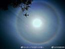 北京上空出现超美日晕 微博朋友圈争相晒图
