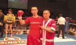 从网瘾少年到拳击冠军 28岁小伙子范志良大连圆拳击梦