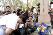 数十名日本遗孤在哈尔滨拜祭中国养父母公墓