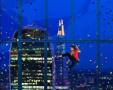 酷炫!世界最刺激办公场所 125米玻璃墙供攀岩