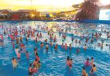 哈啦水乐园开园半个月,成为南太湖旅游新亮点