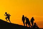 学生暑期沙漠游