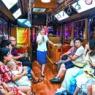 北京夜景观光铛铛车