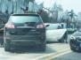 328国道江都段发生4车连撞 一车未挂牌,现场多人受伤