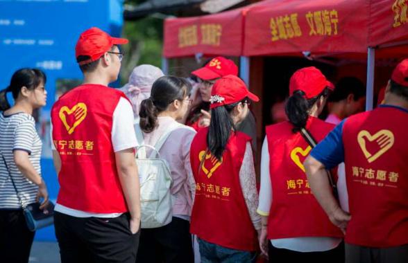 平均7人中就有1名志願者 人民日報頭版點讚暖心海寧