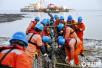 舟山附近海域 敷设220千伏海底电缆